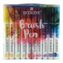Ecoline Brush Pen set 20x
